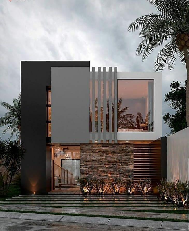 "ғᴀɴᴄɪᴇsᴛ ᴀʀᴄʜɪᴛᴇᴄᴛᴜʀᴇ on Instagram: ""I love this modern design??Do you like it⁉ Yes ore No? Follow @fanciest.worldarchitecture for more? ➖➖➖➖➖➖➖➖➖➖➖➖➖➖➖➖➖ #architecture…"" – Architecture Designs"