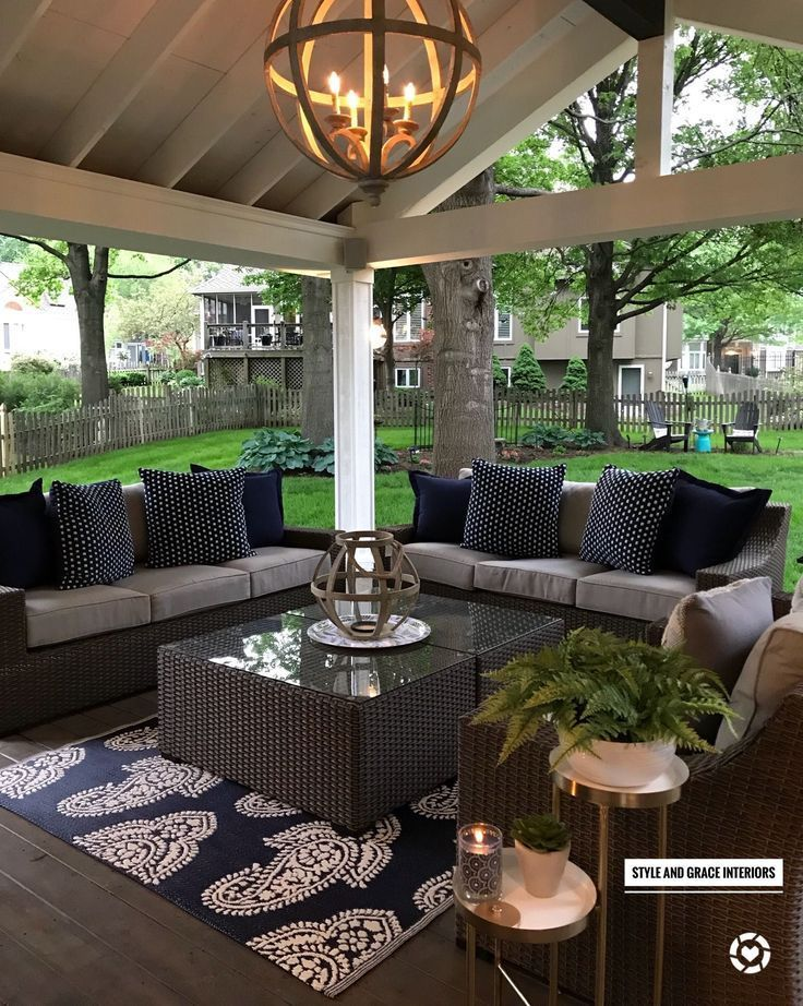 √ 27 Gorgeous Covered Patio Ideas for Your Outdoor Space – pickndecor.com/furniture