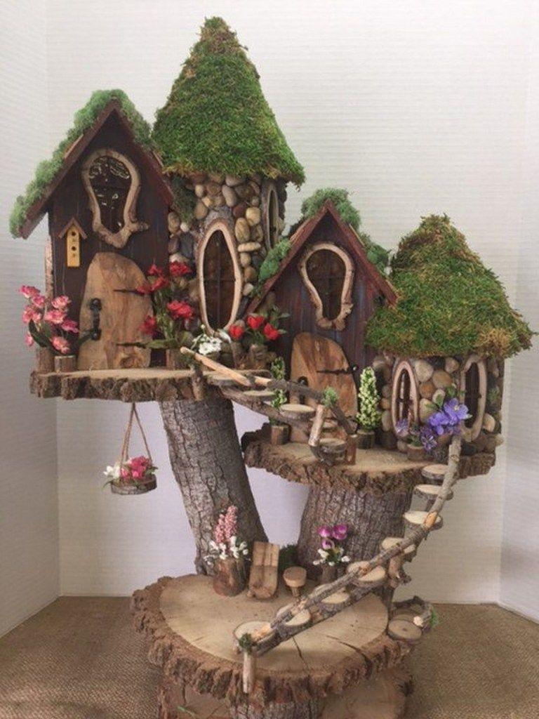 ✔ top 41 wonderful fairy garden ideas and decors 19 > Fieltro.Net