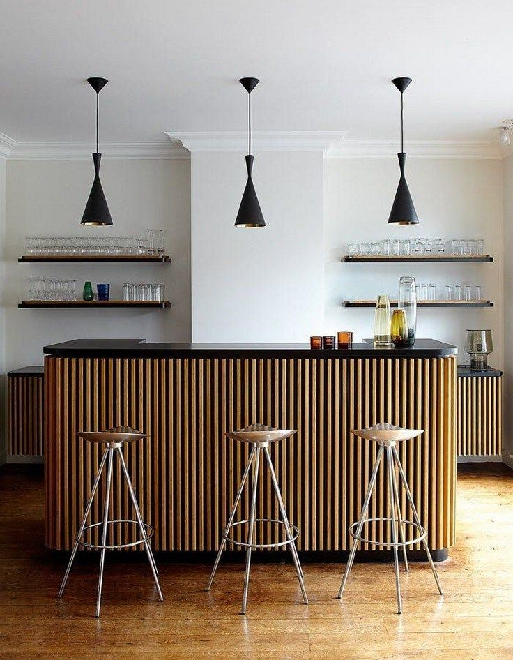 ✔35 genius modern bar designs you must try for home 4 ~ aacmm.com