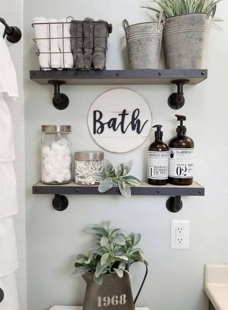 ✔87 small bathroom storage ideas and wall storage solutions 10 » Interior Design