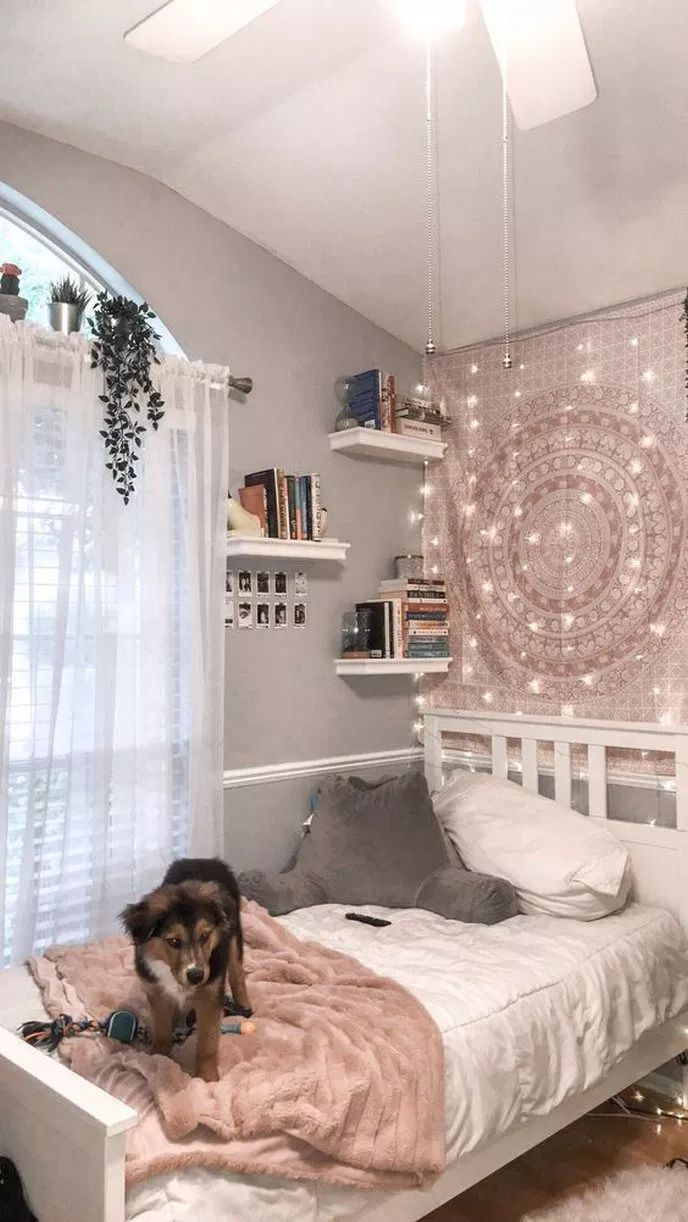 ❤ 34 pretty pink bedroom ideas for your lovely daughter 29 – nothingideas.com | Teenage Bedro…