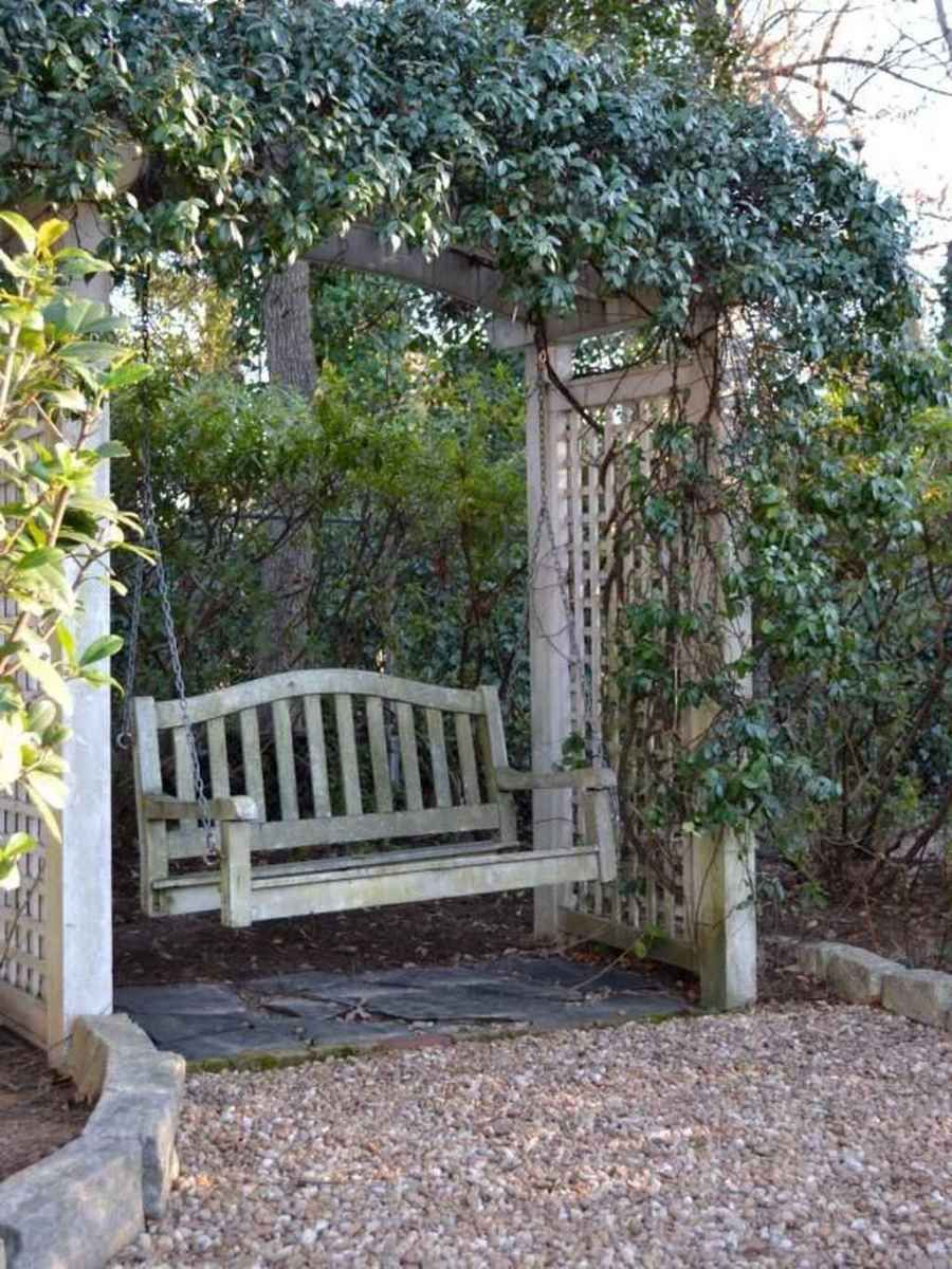 01 Awesome Garden Swing Seats Ideas for Backyard Relaxing – DoMakeover.com