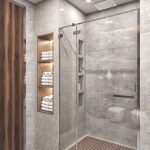 1 bathroom is camouflaged to supply a hunter's comfort. There are a number of wa...