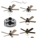 10 AFFORDABLE MODERN FARMHOUSE CEILING FANS
