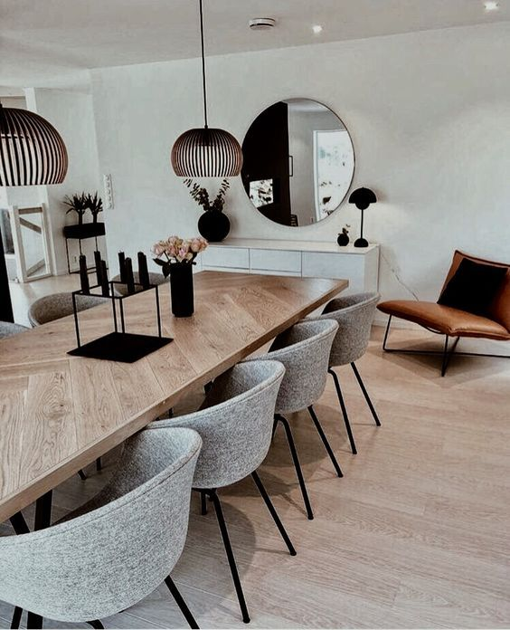 10 Creative Wooden Dining Tables