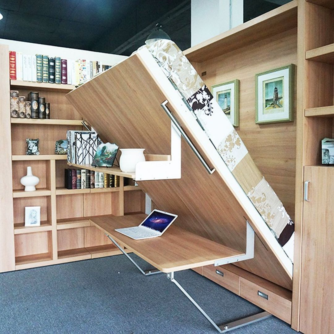 10 Wonderful Folding Bed Ideas For Small Space In Your Home