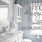 10 tips for designing small bathrooms – brilliant!