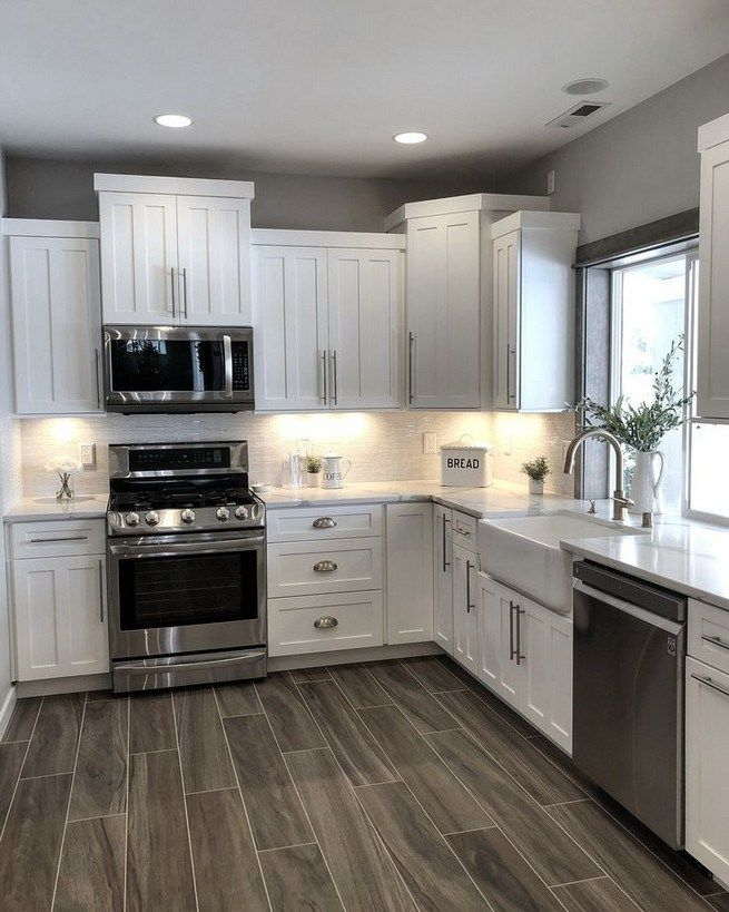 11 Pretty White Kitchen Design And Decor Ideas For Kitchen