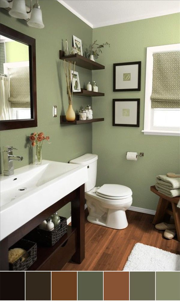 111 World`s Best Bathroom Color Schemes For Your Home | Homesthetics – Inspiring ideas for your home.