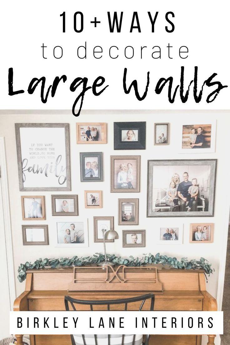 12 Affordable Ideas for Large Wall Decor | Birkley Lane Interiors