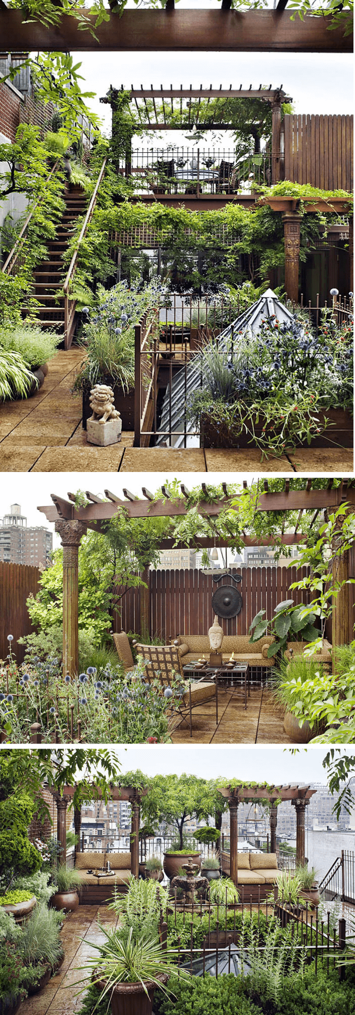 12+ Best Rooftop Garden Ideas & Designs For 2019