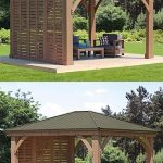 12' Gazebo Privacy Wall