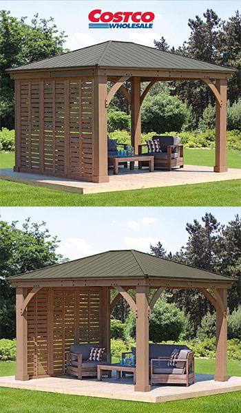 12′ Gazebo Privacy Wall