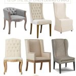 12 of The Best Linen Dining Chairs for Your Dining Room - pickndecor.com/furniture