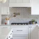 13+ Elegant Grey Kitchen Backsplash Ideas Inspiration