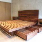 13 Outstanding Bed Frame And Headboard Full Bed Frames King Size Platform #furni...