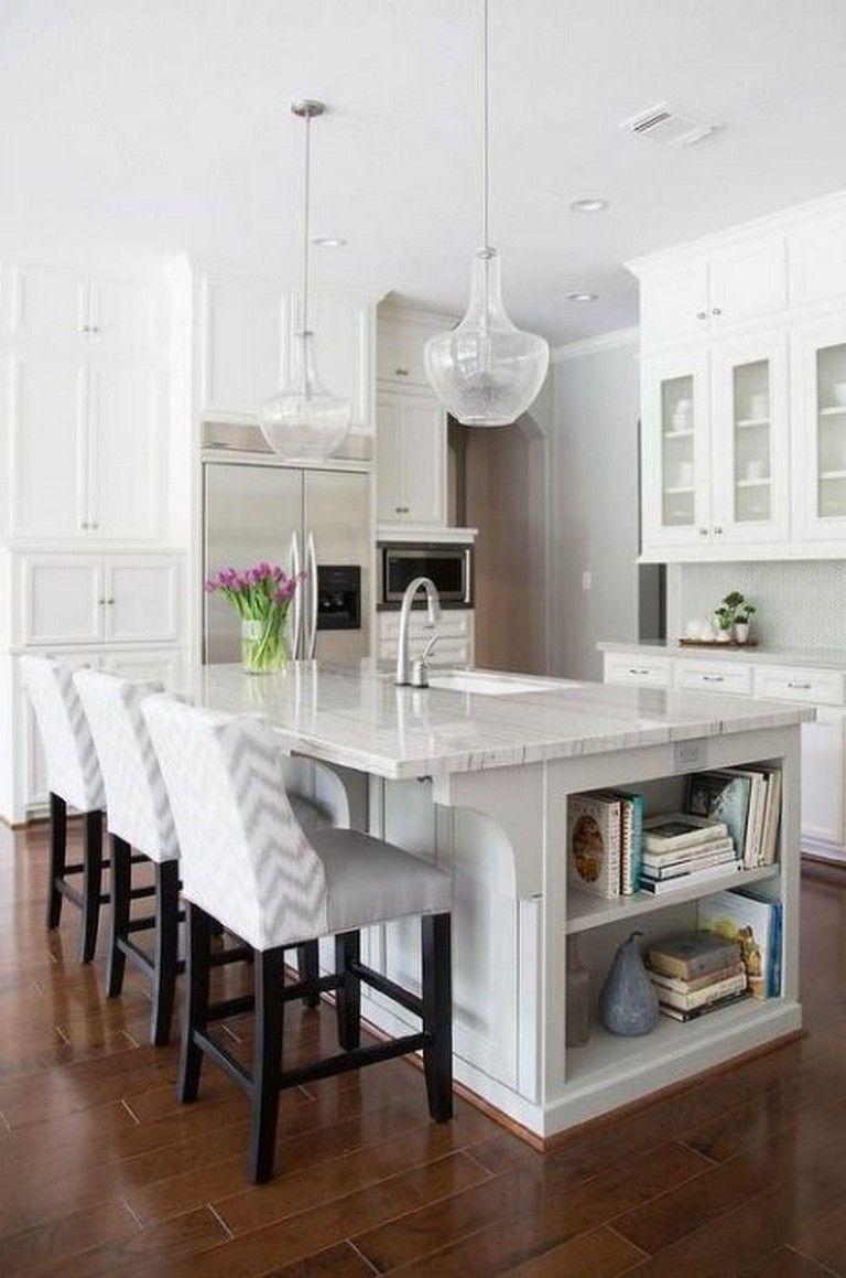15+ Fabulous Kitchen Island Ideas with Seating & Storage