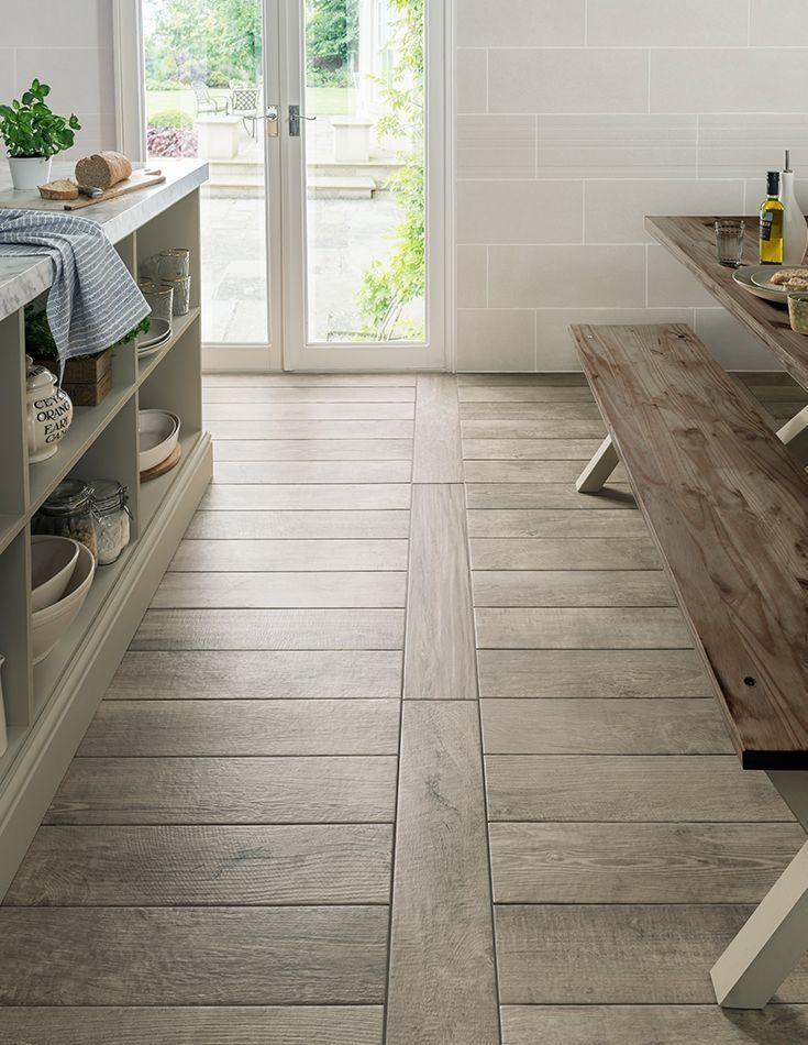 41 Enchanting Porcelain Tile Ideas For Kitchen Floors – DECORRACKS