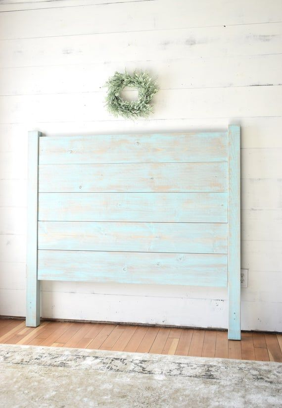 Shiplap Headboard, Queen Headboard, Wood Headboard, Farmhouse Headboard, Platform Bed, Headboard King, Shiplap, Farmhouse Decor, Bed Frame
