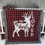 Baby Nursery Bedding Set , Baby , Woodland , Buck, Little Man , Lumberjack , Deer   , Buffalo  Plaid , Baby Bedding , Babylooms Crib Bedding
