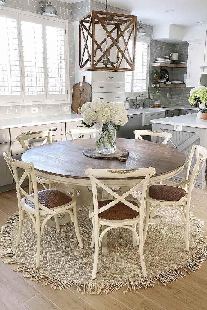 27 Popular Farmhouse Table Ideas To Use In The Décor