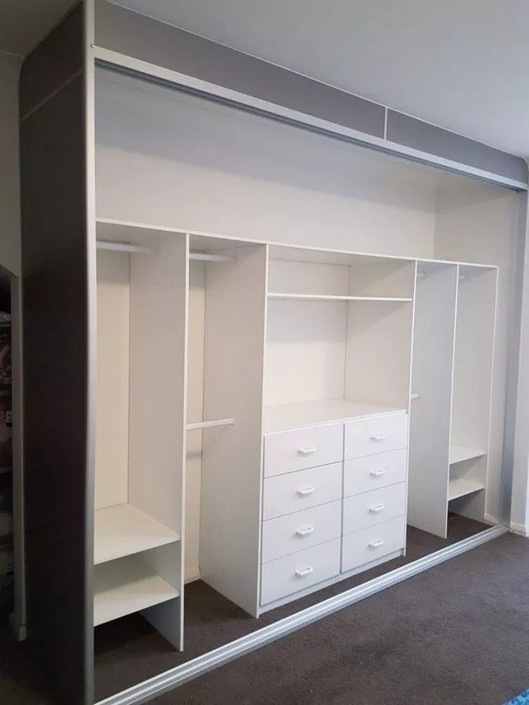 ❤50 Comfortable and Suitable Wardrobe Design for Big & Small Bedroom