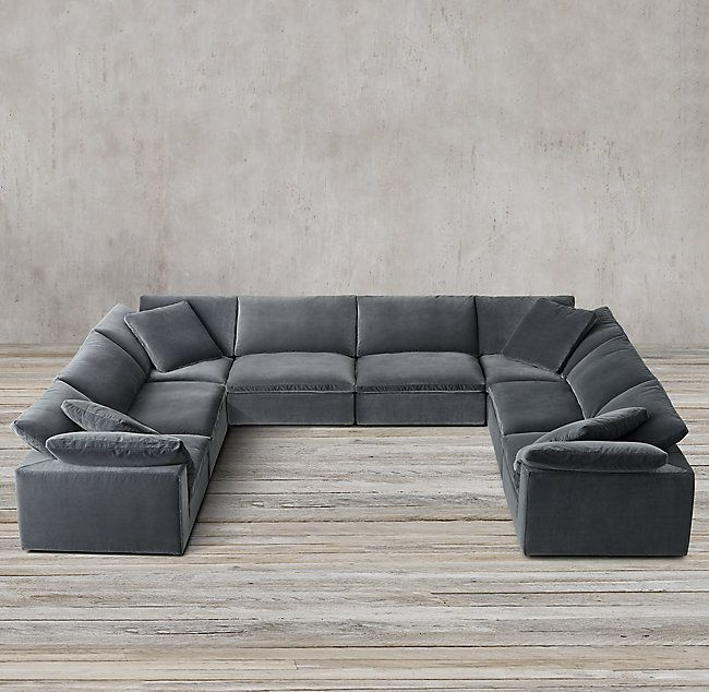 Cloud Modular U-Sofa Sectional