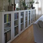 BILLY bookcases with GRYTNÄS glass doors (IKEA Hackers)