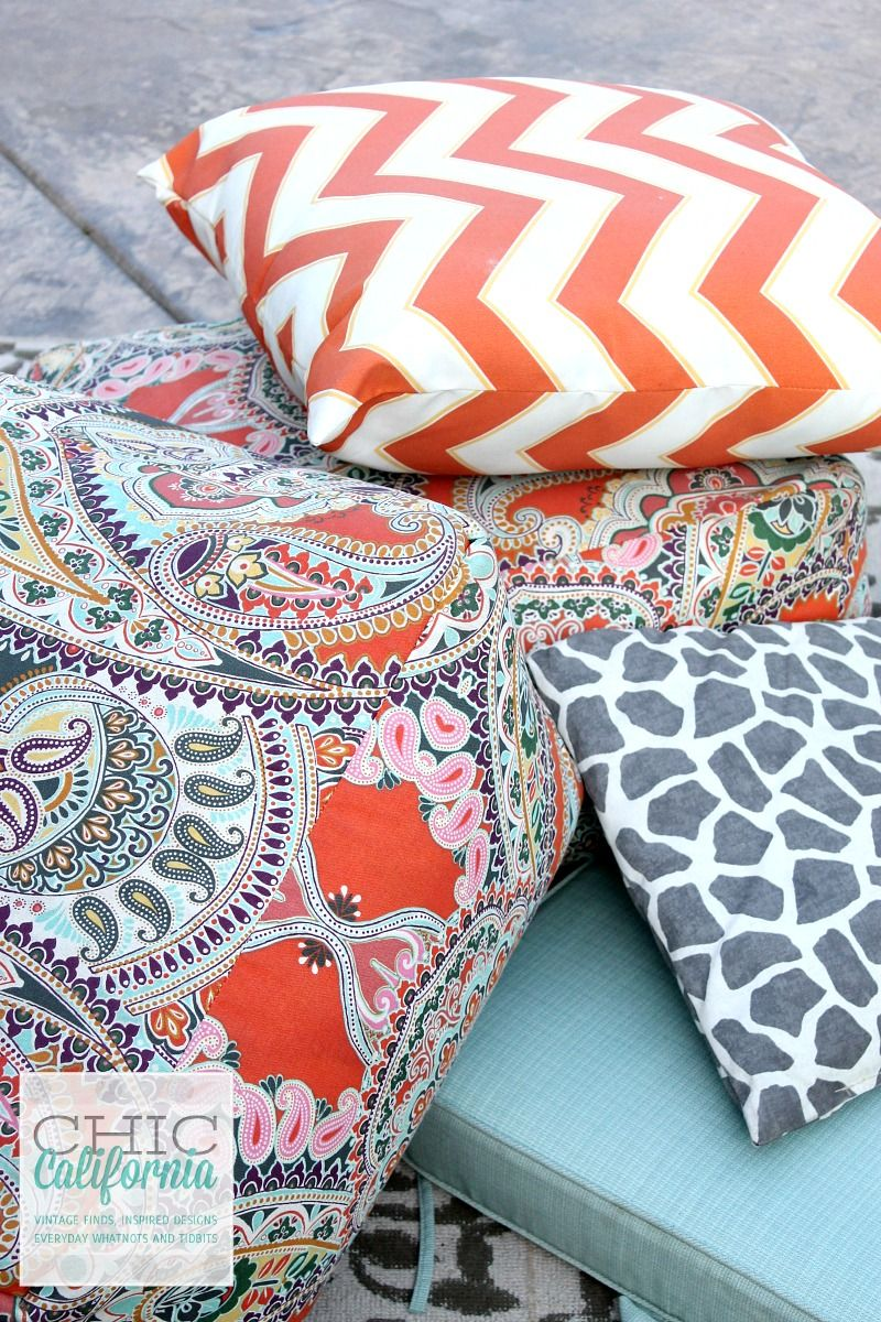How to Clean Your Outdoor Furniture Cushions – adrienne elizabeth