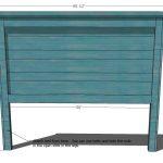 Reclaimed Wood Headboard, Queen Size | Ana White