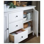 HEMNES Sideboard - white stain - IKEA