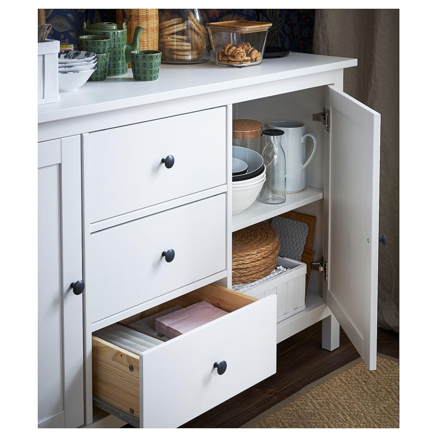 HEMNES Sideboard – white stain – IKEA