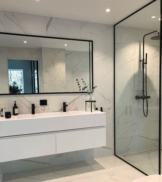 √31+ Modern Bathroom Design Ideas For Your Family Heaven | recyden