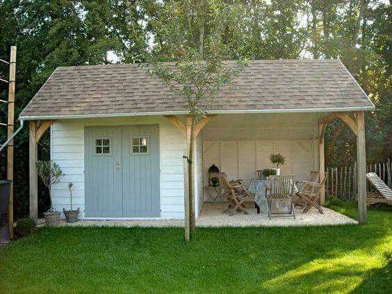47 Incredible Backyard Storage Shed Design and Decor Ideas –