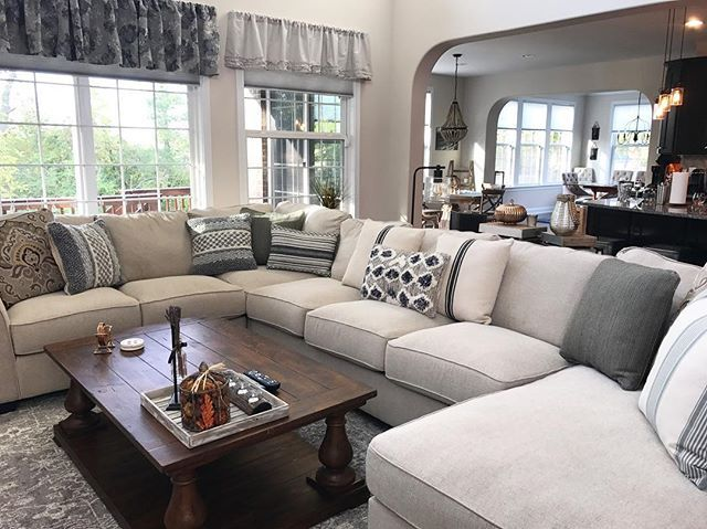 Wilcot 4-Piece Sofa Sectional, Linen
