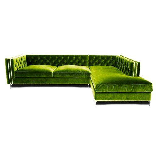 Belle Fierté Glamorous Corner Sofa | Wayfair.co.uk