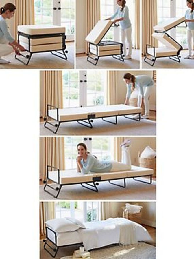60 Creative Folding Bed Ideas for Home Space Saving – Rockindeco
