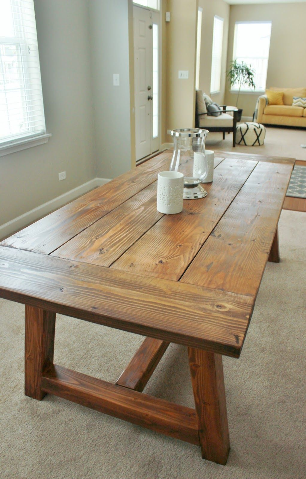 Holy Cannoli! We Built a Farmhouse Dining Room Table.