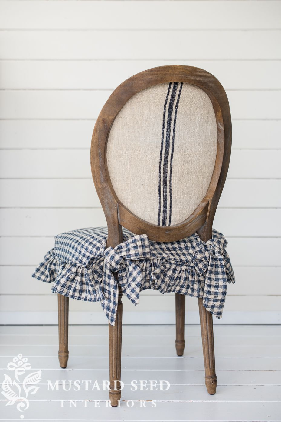 dining chair slipcover tutorial (updated) – Miss Mustard Seed