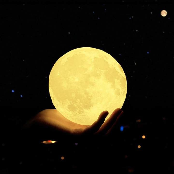 Luna Moon Touch Lamp