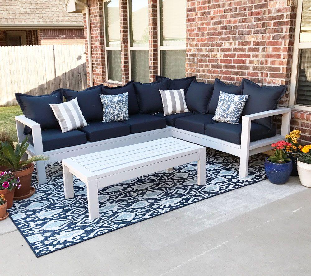 2×4 Outdoor Sofa  | Ana White