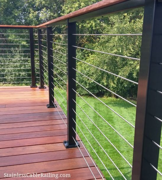 16 Creative Deck Railing Ideas to Transform Your Deck