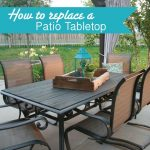Makeover an Outdoor table and refresh chairs | DeeplySouthernHome