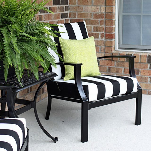 Sew Easy Outdoor Cushion Covers {Oldie, but Goodie}
