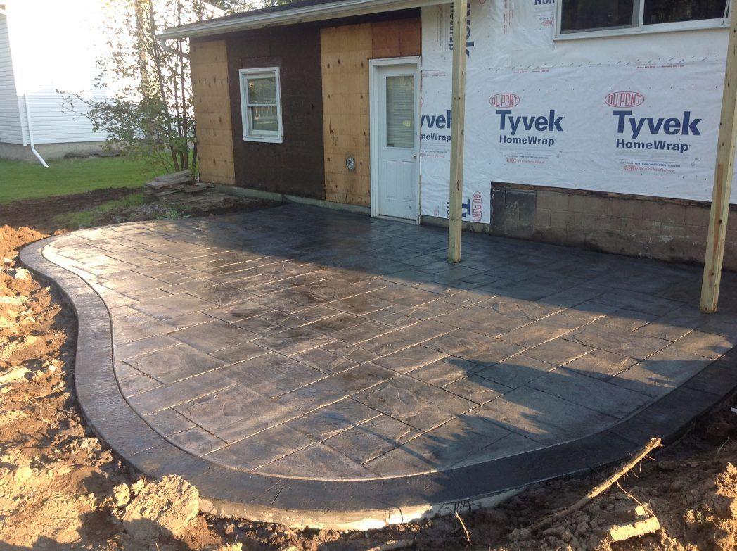 Imposing Stamped Concrete Backyard Ideas – tyuka.info