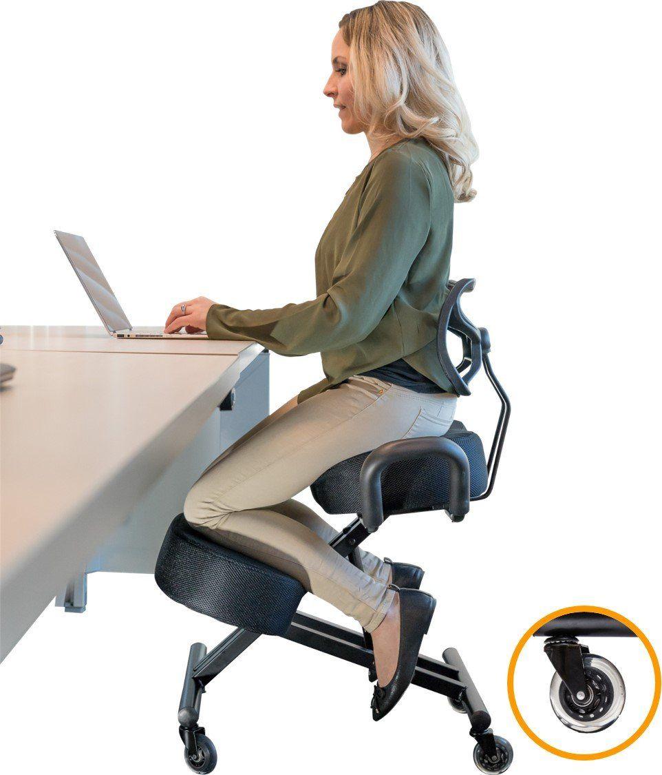 Buy Sleekform Kneeling Chair for Perfect Posture | Ergonomic Knee Stool Relievin…