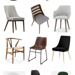 16 Budget-Friendly Modern Dining Chairs - Love Create Celebrate
