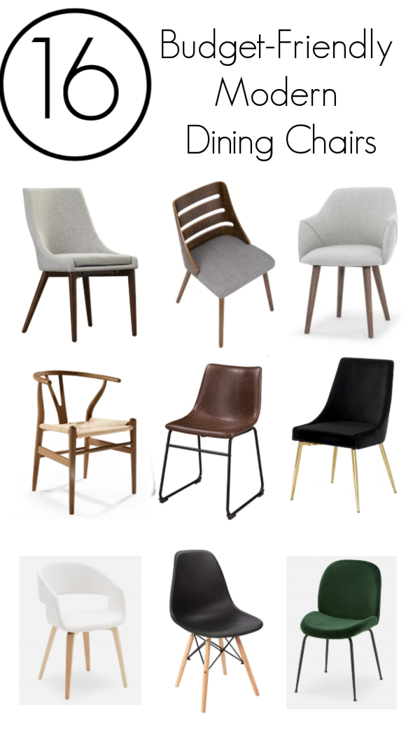 16 Budget-Friendly Modern Dining Chairs – Love Create Celebrate