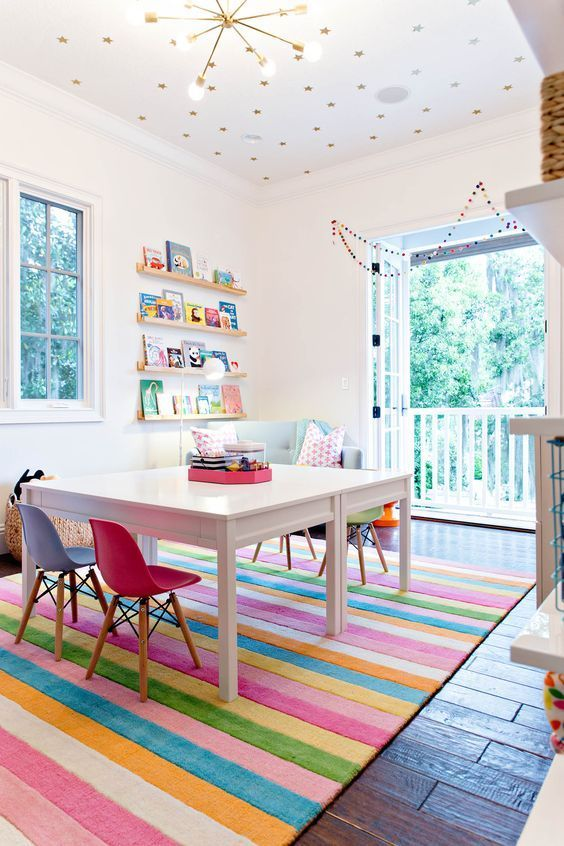 17 Adorable and Cheerful Kids Playroom Ideas – mybabydoo